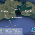KAART | Ukraina: Venemaa eiras Ukraina sõjalaevade puutumatust rahvusvahelistes vetes