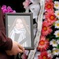 FOTOD   Kohtla-Järvel saadeti viimsele teele möödunud nädalavahetusel mõrvatud Nastja