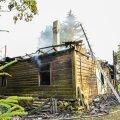 Viljandimaal süütas äike maja