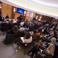 PILTUUDIS: Peaminister Rõivas pidas Harvardi ülikoolis kõne