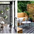 ФОТО | Скрыться от любопытных глаз: как создать приватность на балконе и террасе