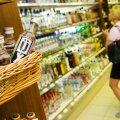 Kange alkohol toidukaupluses