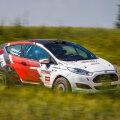 Rally Estonial osalev Ford Fiesta R2T