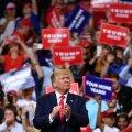 Trump alustas ametlikult kampaaniat, soovides veel ühe ametiaja riigijuhina jätkata