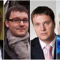 Vasakult - Raimond Kaljulaid, Jaanus Riibe, Marek Jürgenson, Maria Jufereva