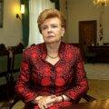 Vīķe-Freiberga: kui keegi oleks pidanud tagasi astuma, siis Riia linnapea Ušakovs