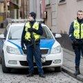 Politsei valve Tallinna jõuluturul