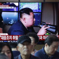 Jälle! Põhja-Korea teatas vastusest lõunanaabri õppustele ja tulistas välja kaks raketti