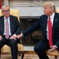 Trump: USA ja EL leppisid kokku koostöös madalamate kaubandustõkete suunas