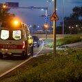 Politsei ja kiirabi reageerisid väljakutsele, kus inimene oli tõukerattaga õnnetusse sattunud.