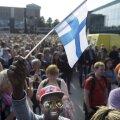 FOTOD ja VIDEO: Vähemalt kümnetuhandepealine inimmeri nõudis Helsingis lõppu rassismile