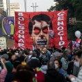 Laupäeval avaldasid Rio de Janeiros meelt kümned tuhanded inimesed, kes nõudsid Bolsonaro tagasiastumist.