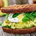 Õigete koostisainete korral on võileib täisväärtuslik toidukord.