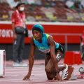Shaunae Miller-Uibo 200 meetri jooksu poolfinaalis.