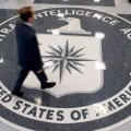 CIA peakorteri fuajee põrand.