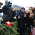 ФОТО: В Таллинне зажгли первую свечу Адвента
