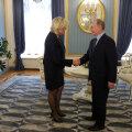 Marine Le Peni kohtumine Vladimir Putiniga 2007. aastal.