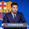 Lionel Messi pressikonverentsil