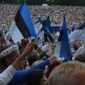 """HARRAS VIDEO   Meenuta laulupeo ülevaid hetki, kui kõlas """"Mu isamaa on minu arm"""""""