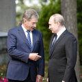 Нийнистё и Путин поздравили друг друга и обсудили ряд важных вопросов