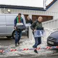 Norra justiitsministri auto süütamises kahtlustatakse tema oma elukaaslast