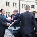 Фото: президент Грузии Георгий Маргвелашвили встретился с Юри Ратасом
