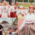 Женщины на певческом празднике: на крыльях песни и танца