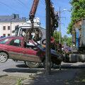 В течение года из Пыхья-Таллинна вывезли более сотни заброшенных автомобилей