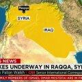 VIDEO: Prantsusmaa alustas Islamiriigi pommitamist Raqqa lähedal