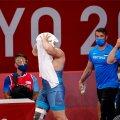 Artur Vititin Tokyo olümpial pärast avaringi kaotust.