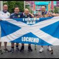 Шотландские болельщики в Лондоне
