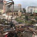 FOTOD: Orkaani räsitud Sint Maartenile maandus esimene lennuk, abi tõid kaks Hollandi mereväe laeva