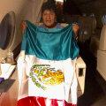 Boliivia presidendi ametikohalt tagasi astunud Evo Morales võttis vastu Mehhiko varjupaigapakkumise
