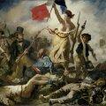"""Delacroix, """"Vabadus viib rahva barrikaadidele"""", 1830"""