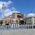 GRAAFIK | 6. sajandist pärit Hagia Sophia on olnud Bütsantsi peakirik, Osmanite mošee ja Atatürki muuseum. Erdoğan elustab Osmanite pärandit