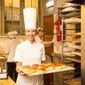 Kohvik-pagarikojas Rukis on Marju Männik peakondiitrina ametis olnud juba kaks aastat.