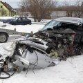 Saaremaal sai liiklusõnnetuses viga noormees