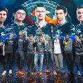 Team Secret aasta esimese suure turniiri võidukarikaga. Clement Ivanov on reas vasakult teine