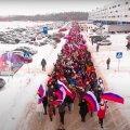 В России проводят флешмобы за Путина. Участники часто не знают, куда идут