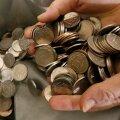 5-rublased mündid.