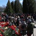 9.mai tähistamine Kaitseväe kalmistul.