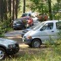 FOTOD: Suplejate autod ummistasid Vääna-Jõesuu ranna ja teeperved