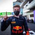 Red Bulli ametlik noorsõitja Jüri Vips.