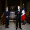 Macron kutsus pärast tšetšeeni toime pandud mõrva Venemaad terrorismivastast võitlust tugevdama