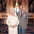 Kuninganna Elizabeth II ja tema abikaasa prints Philip, Edinburghi hertsog, 2017. aasta novembris oma 70. pulma-aastapäeval Windsori lossis.