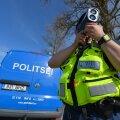Politsei mõõdab kiirust