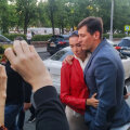 Российского политика Дмитрия Гудкова отпустили из полиции без обвинений