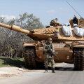 Танк турецкой армии в Идлибе