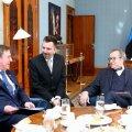 Ilves kohtus Kadriorus Läti uue peaministriga