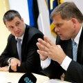 Kaitsepolitsei pressikonverentsil tutvustasid aastaraamatut Martin Arpo ja Raivo Aeg